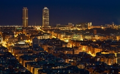 NIGHT BARCELONA
