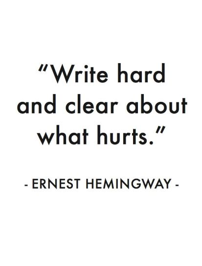 GIVE ME SOME TIME MR. HEMINGWAY