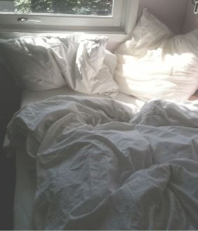 Unmade bed IX